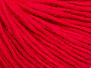 Fiber Content 50% Wool, 50% Acrylic, Brand ICE, Candy Pink, Yarn Thickness 4 Medium  Worsted, Afghan, Aran, fnt2-57015