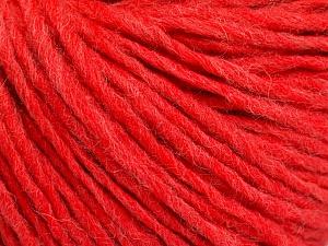 Fiber Content 50% Wool, 50% Acrylic, Salmon, Brand ICE, Yarn Thickness 4 Medium  Worsted, Afghan, Aran, fnt2-57018