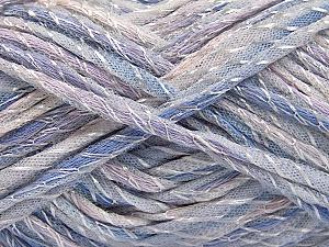 Fiber Content 50% Polyamide, 50% Cotton, Lilac Shades, Brand ICE, fnt2-57191