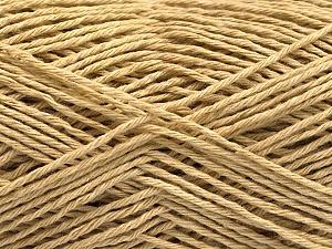 Fiber Content 100% Cotton, Brand ICE, Dark Beige, Yarn Thickness 2 Fine  Sport, Baby, fnt2-57296
