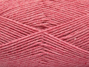 Fiber Content 80% Acrylic, 20% Polyamide, Pink, Brand ICE, Yarn Thickness 3 Light  DK, Light, Worsted, fnt2-57379