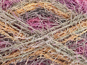 If you want to crochet or knit up washcloths or dishcloths.  That name is SCRUBBER TWIST. Washing instructions: Machine wash warm on a gentle cycle. Do not iron. Tumble dry Fiber Content 100% Polyester, Pink, Lilac, Brand ICE, Dark Cream, Beige, Yarn Thickness 4 Medium  Worsted, Afghan, Aran, fnt2-57392