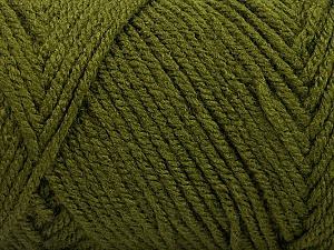 Items made with this yarn are machine washable & dryable. Fiber Content 100% Acrylic, Khaki, Brand ICE, Yarn Thickness 4 Medium  Worsted, Afghan, Aran, fnt2-57415