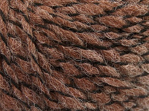Fiber Content 50% Wool, 50% Acrylic, Brand ICE, Brown, fnt2-57462