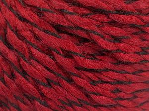 Fiber Content 100% Acrylic, Brand ICE, Dark Red, Yarn Thickness 3 Light  DK, Light, Worsted, fnt2-57537