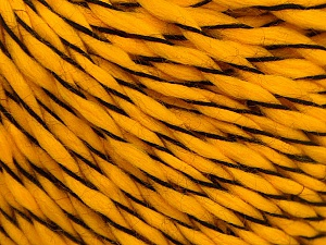 Fiber Content 100% Acrylic, Yellow, Brand ICE, Yarn Thickness 3 Light  DK, Light, Worsted, fnt2-57540