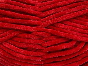 Fiber Content 100% Micro Fiber, Red, Brand ICE, Yarn Thickness 4 Medium  Worsted, Afghan, Aran, fnt2-57626