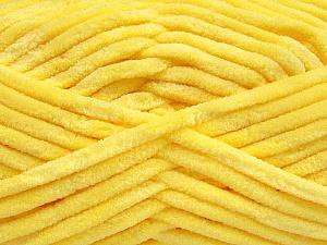 Fiber Content 100% Micro Fiber, Yellow, Brand ICE, Yarn Thickness 4 Medium  Worsted, Afghan, Aran, fnt2-57629
