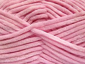Fiber Content 100% Micro Fiber, Light Pink, Brand ICE, Yarn Thickness 4 Medium  Worsted, Afghan, Aran, fnt2-57635