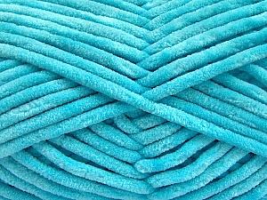 Fiber Content 100% Micro Fiber, Light Turquoise, Brand ICE, Yarn Thickness 4 Medium  Worsted, Afghan, Aran, fnt2-57639