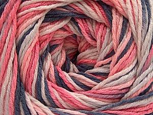 Fiber Content 100% Acrylic, White, Salmon, Brand ICE, Grey, Baby Pink, fnt2-57744