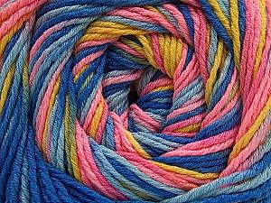 Fiber Content 100% Acrylic, Yellow, Pink Shades, Brand ICE, Blue Shades, fnt2-57758