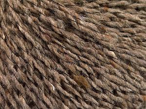Fiber Content 50% Acrylic, 40% Wool, 10% Polyamide, Brand ICE, Camel Melange, fnt2-57804