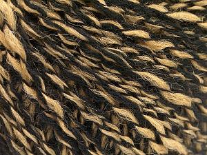 Fiber Content 60% Acrylic, 30% Wool, 10% Polyamide, Light Camel, Brand ICE, Black, Yarn Thickness 2 Fine  Sport, Baby, fnt2-57821