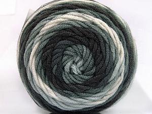Fiber Content 100% Acrylic, White, Brand ICE, Grey Shades, fnt2-58023