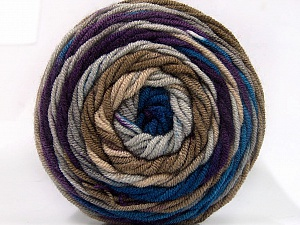 Fiber Content 100% Acrylic, Purple, Brand ICE, Camel, Blue, fnt2-58028