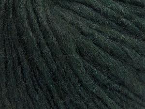 Fiber Content 55% Acrylic, 45% Wool, Brand ICE, Dark Green, fnt2-58039