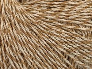 Fiber Content 50% Acrylic, 50% Wool, Brand ICE, Cream, Beige, fnt2-58042