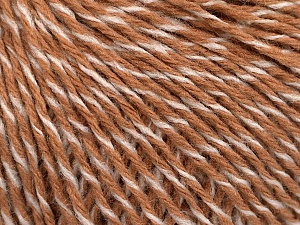 Fiber Content 100% Acrylic, White, Light Brown, Brand ICE, fnt2-58043