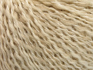 Fiber Content 50% Wool, 50% Acrylic, Brand ICE, Cream melange, fnt2-58050