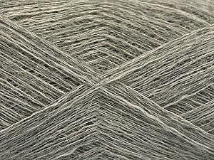 Fiber Content 50% Polyamide, 40% Baby Alpaca, 10% Wool, Brand ICE, Grey Shades, fnt2-58070