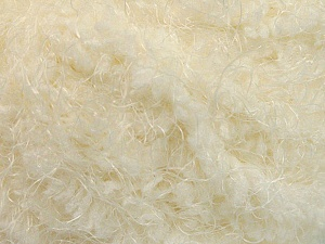 Fiber Content 100% Micro Fiber, Brand ICE, Cream, Yarn Thickness 6 SuperBulky  Bulky, Roving, fnt2-58113