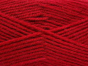 Fiber Content 50% Wool, 50% Acrylic, Brand ICE, Dark Fuchsia, Yarn Thickness 4 Medium  Worsted, Afghan, Aran, fnt2-58184