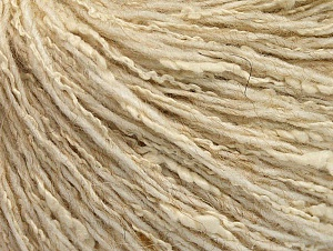 Fiber Content 8% Polyamide, 40% Cotton, 39% Acrylic, 13% Alpaca, Brand ICE, Cream, Yarn Thickness 3 Light  DK, Light, Worsted, fnt2-58214
