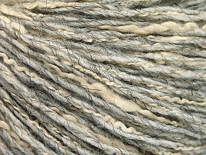 Fiber Content 8% Polyamide, 40% Cotton, 39% Acrylic, 13% Alpaca, Light Grey, Brand ICE, fnt2-58216