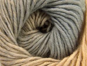 Fiber Content 75% Premium Acrylic, 25% Wool, Brand ICE, Grey, Cafe Latte, fnt2-58230