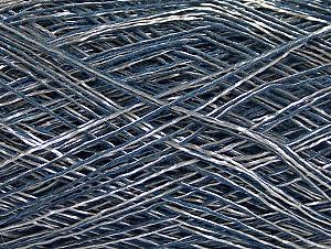 Fiber Content 55% Polyamide, 45% Viscose, Silver, Brand ICE, Blue, fnt2-58249