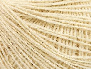 Fiber Content 50% Wool, 50% Acrylic, Brand ICE, Cream, fnt2-58292