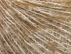 Fiber Content 35% Acrylic, 25% Merino Wool, 25% Kid Mohair, 15% Polyamide, White, Brand ICE, Camel, fnt2-58308