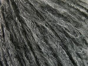 Fiber Content 40% Polyamide, 30% Acrylic, 30% Mohair, Brand ICE, Grey, Black, fnt2-58351