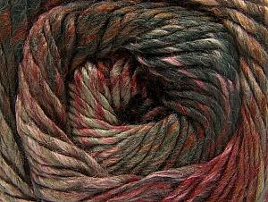 Fiber Content 70% Wool, 30% Acrylic, Salmon, Khaki, Brand ICE, Brown, Anthracite, Yarn Thickness 5 Bulky  Chunky, Craft, Rug, fnt2-58437