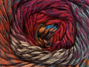 Fiber Content 70% Wool, 30% Acrylic, Red, Purple, Brand ICE, Copper, Brown Shades, Blue, Yarn Thickness 5 Bulky  Chunky, Craft, Rug, fnt2-58439