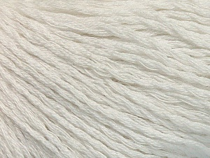 Fiber Content 40% Bamboo, 35% Cotton, 25% Linen, White, Brand ICE, Yarn Thickness 2 Fine  Sport, Baby, fnt2-58462