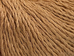Fiber Content 40% Bamboo, 35% Cotton, 25% Linen, Brand ICE, Camel, Yarn Thickness 2 Fine  Sport, Baby, fnt2-58464