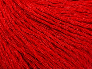 Fiber Content 40% Bamboo, 35% Cotton, 25% Linen, Red, Brand ICE, fnt2-58473