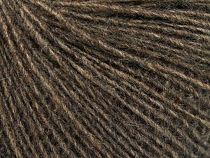 Fiber Content 55% Acrylic, 25% Alpaca, 20% Wool, Brand ICE, Dark Camel, fnt2-58490