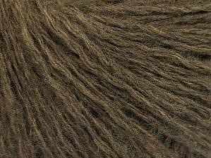 Fiber Content 74% Wool, 24% Polyamide, 2% Elastan, Khaki, Brand ICE, Yarn Thickness 2 Fine  Sport, Baby, fnt2-58511