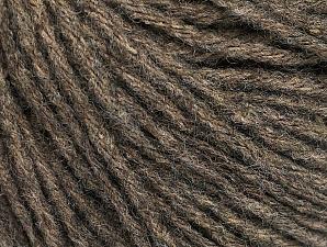 Fiber Content 50% Wool, 50% Acrylic, Brand ICE, Camel, Yarn Thickness 4 Medium  Worsted, Afghan, Aran, fnt2-58522