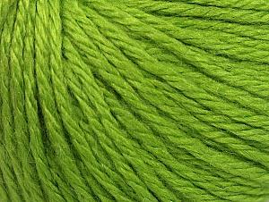 Fiber Content 40% Merino Wool, 40% Acrylic, 20% Polyamide, Brand ICE, Green, Yarn Thickness 3 Light  DK, Light, Worsted, fnt2-58669
