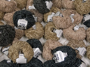Amigurumi Chenille This mixed lot includes a total of 2000 gr (70.5 oz.) leftover yarns. There is no standard for fiber content and weight. Also disregard any information on the labels. You will get what you see in the photo. Brand ICE, fnt2-58719
