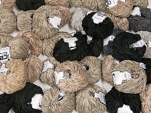 Amigurumi Chenille This mixed lot includes a total of 2000 gr (70.5 oz.) leftover yarns. There is no standard for fiber content and weight. Also disregard any information on the labels. You will get what you see in the photo. Brand ICE, fnt2-58721