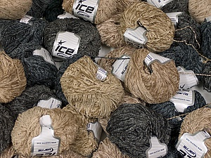 Amigurumi Chenille This mixed lot includes a total of 2000 gr (70.5 oz.) leftover yarns. There is no standard for fiber content and weight. Also disregard any information on the labels. You will get what you see in the photo. Brand ICE, fnt2-58723