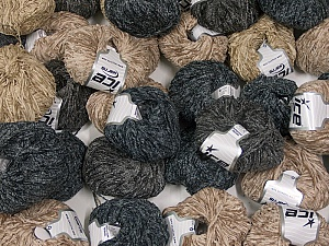 Amigurumi Chenille This mixed lot includes a total of 2000 gr (70.5 oz.) leftover yarns. There is no standard for fiber content and weight. Also disregard any information on the labels. You will get what you see in the photo. Brand ICE, fnt2-58724