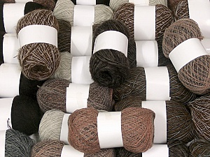 Winter Yarns This mixed lot includes a total of 2000 gr (70.5 oz.) leftover yarns. There is no standard for fiber content and weight. Also disregard any information on the labels. You will get what you see in the photo. Brand ICE, fnt2-58738