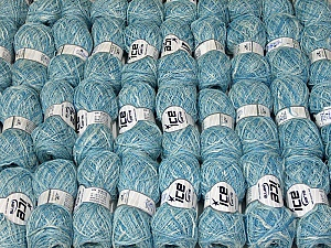 Antonio This mixed lot includes a total of 2000 gr (70.5 oz.) leftover yarns. There is no standard for fiber content and weight. Also disregard any information on the labels. You will get what you see in the photo. Brand ICE, fnt2-58775