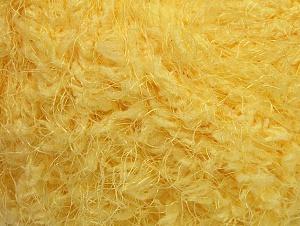 Fiber Content 100% Polyamide, Light Yellow, Brand ICE, Yarn Thickness 6 SuperBulky  Bulky, Roving, fnt2-58803